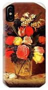 bs-flo- James Henry Wright- Flower Still Life James Henry Wright IPhone Case