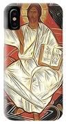 Jesus Christ Christian Art IPhone Case