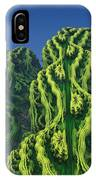Abstract Fractal Landscape IPhone Case