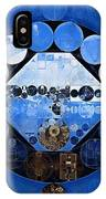Abstract Painting - Yale Blue IPhone Case