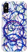 Abstract Pencil Pattern IPhone Case