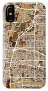 Albuquerque New Mexico City Street Map IPhone Case