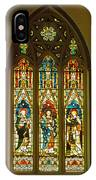3 Apostles South Stained Glass Window Christ Church Cathedral 1 IPhone Case