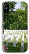 Arlington Cemetery IPhone Case