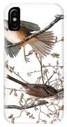 Audubon: Sparrow, (1827-38) IPhone Case