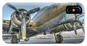 B17 Flying Fortress On The Ramp At Livermore IPhone Case