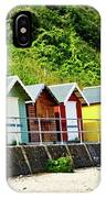 Beach Huts IPhone Case