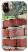 Bricklaying IPhone Case
