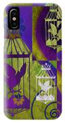 3 Caged Birds IPhone Case