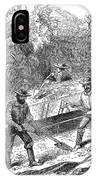 California Gold Rush, 1860 IPhone Case
