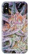 Cannabis Macro IPhone Case