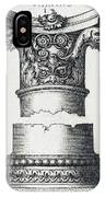 Capital And Base Of A Column IPhone Case