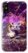 Cat Kitten Mieze Red Mackerel Tabby  IPhone Case