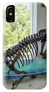 Centro De Investigaciones Paleontologicas IPhone Case
