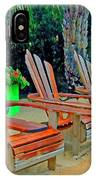 3 Chairs  IPhone Case