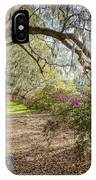 Charlston Sc - Magnolia Plantations And Garden IPhone Case