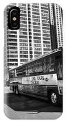 Chicago Bus And Buildings IPhone Case