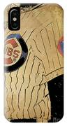 Chicago Cubs Baseball Team Vintage Card IPhone Case