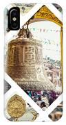 Collage Of Kathmandu  IPhone Case