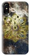 Conceptual Illustration Of Atomic Clock IPhone Case