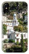Dhermi Traditional Village View In Southern Albania IPhone Case