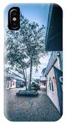 Downtown Of Newport Rhode Island At Dusk Hours IPhone Case
