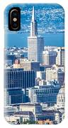 Downtown San Francisco City Street Scenes And Surroundings IPhone Case
