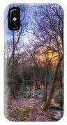 Early Morning Forest Pond IPhone Case