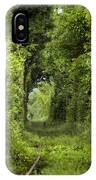 Famous Tunnel Of Love Location IPhone Case