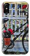 Flower Bike Collection IPhone Case