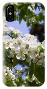 Flowering Pear Branch In The Garden IPhone Case