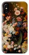 Flowers In A Glass Pitcher IPhone Case