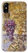 Grapes And Olives IPhone Case