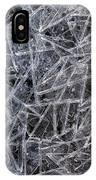 3. Ice Pattern 2, Corbridge IPhone Case