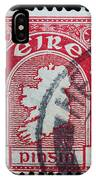 Irish Postage Stamp IPhone Case