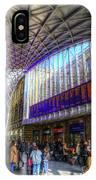 Kings Cross Rail Station London IPhone Case