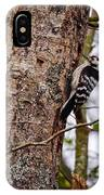 Lesser Spotted Woodpecker IPhone Case