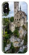 Lichtenstein Castle - Baden-wurttemberg - Germany IPhone Case