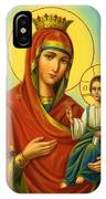Madonna Enthroned Art IPhone Case