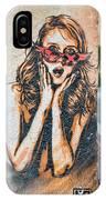 Marseille Street Art, Le Panier And Le Cours Julien IPhone Case
