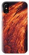 Molten Pahoehoe Lava IPhone Case