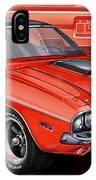 Dodge Challenger 1970 R/t IPhone Case