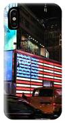 New York City Times Square IPhone Case