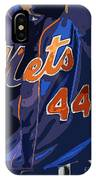 New York Mets Baseball Team And New Typography IPhone Case