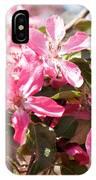Pink Cherry Tree IPhone Case