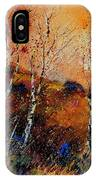 3 Poplars IPhone Case