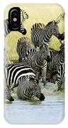 Quenching Their Thirst IPhone Case