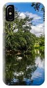 Roath Park Lake IPhone Case