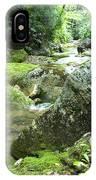 Rushing Mountain Stream IPhone Case
