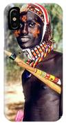 Samburu Warrior IPhone X Case